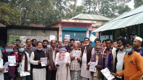 বাবুগঞ্জের কেদারপুরের জনগন একট্টা করছেন মাসুম মৃধা