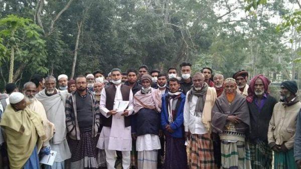 বাবুগঞ্জের কেদারপুরে মাসুম মৃধার ধারাবাহিক গনসংযোগ
