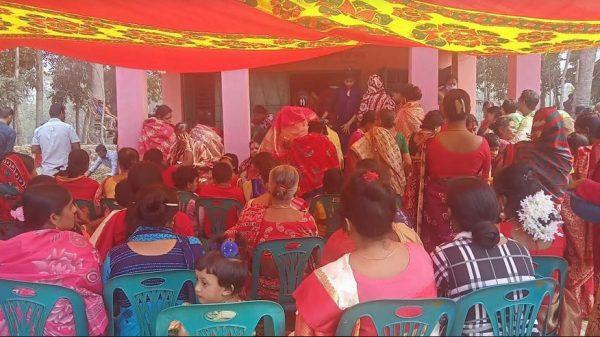 বানারীপাড়ায় ২২৬তম সূর্যপুজার উদ্বোধন
