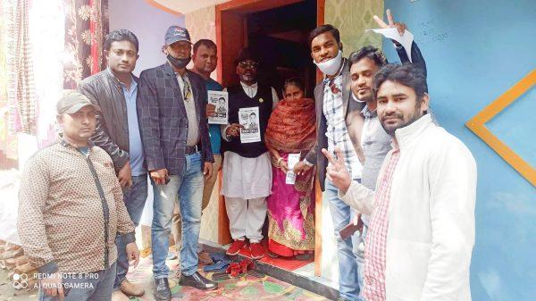 বানারীপাড়া প্রেসক্লাবের পক্ষে সাংবাদিকদের গণসংযোগ