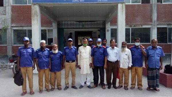 মেহেন্দিগঞ্জ উপজেলা গ্রাম পুলিশ বাহিনীর কমিটি গঠন