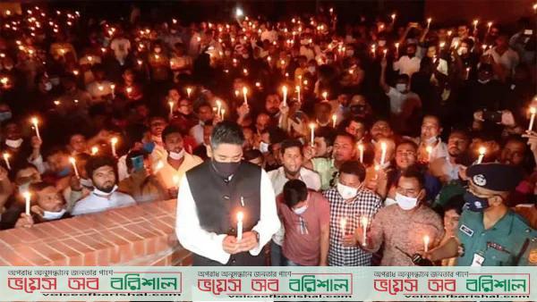 বরিশালে মধ্যরাতে 'জয় বাংলা, জয় বঙ্গবন্ধু' স্লোগানে মুখরিত টর্চার সেল